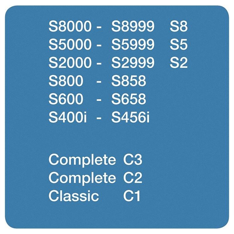 4 Miele Staubbeutel GN HyClean 3D Complete C1 C3 C2 Farbe Blau