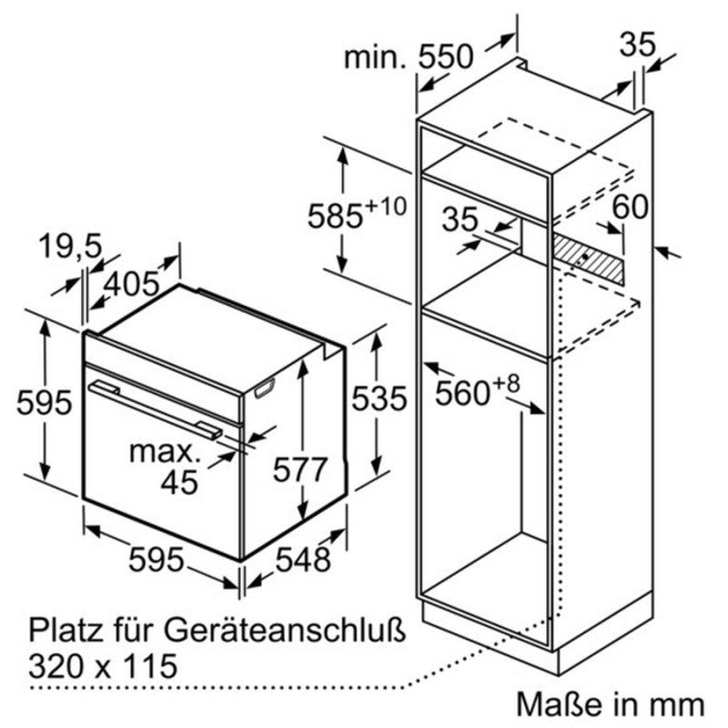 Häufig Siemens Backofen mit Mikrowelle der Extraklasse: HN678G4S1, 1.999,95 WP97