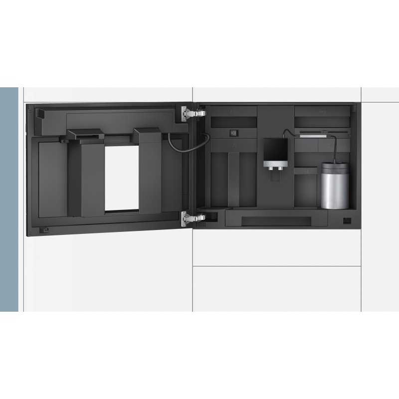 siemens einbau kaffeevollautomat ct636lew1. Black Bedroom Furniture Sets. Home Design Ideas