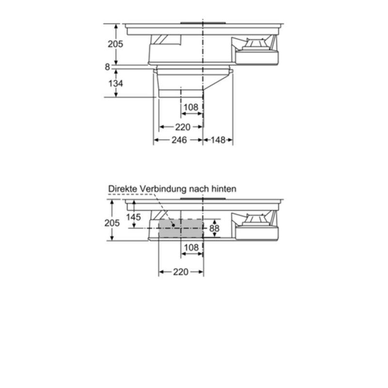 siemens kochstelle mit integriertem dunstabzug ed845fs11e. Black Bedroom Furniture Sets. Home Design Ideas