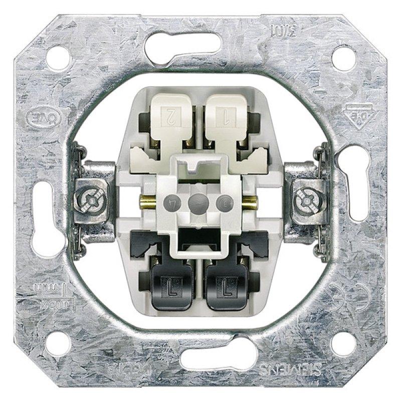 Siemens Geräteeinsatz DELTA, UP Ausschalter, 2-polig, 10AX 5TA21