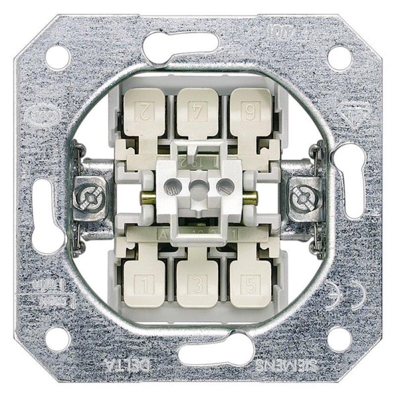 Siemens Geräteeinsatz DELTA, UP Ausschalter, 2-polig, 16A 5TA215
