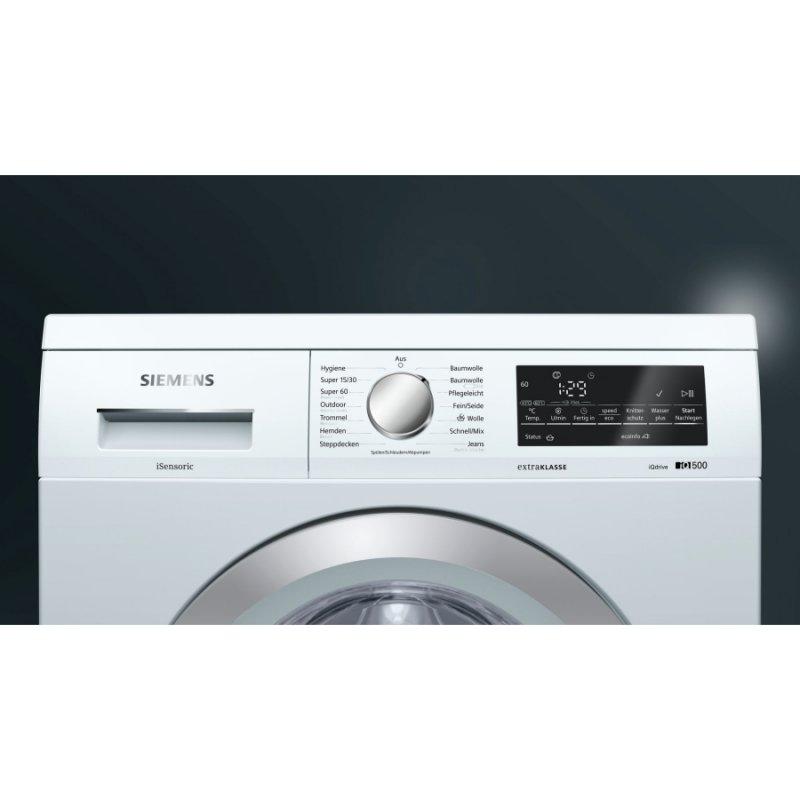 siemens waschmaschine der extraklasse wu14q490 eek a. Black Bedroom Furniture Sets. Home Design Ideas